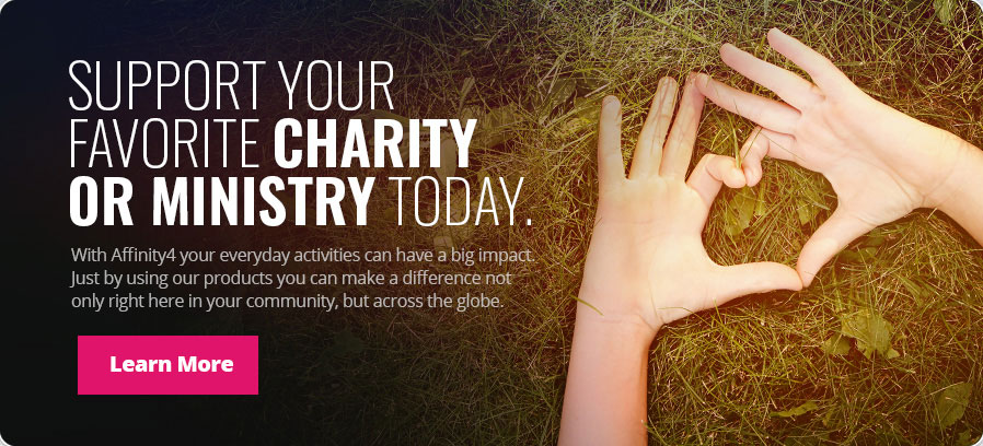 Support your favorite ministry or charity today - Learn More
